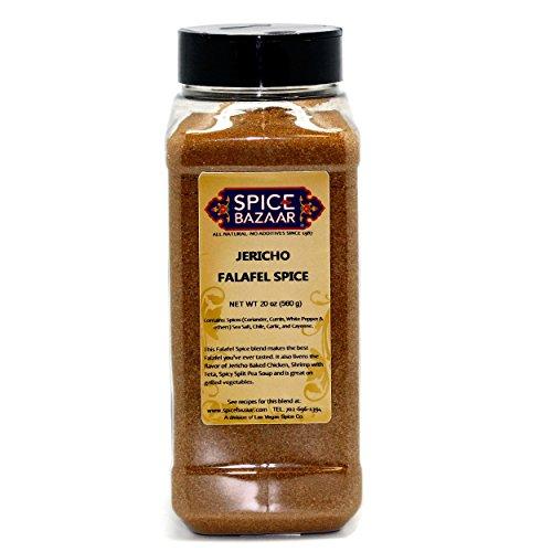 Spice Bazaar Falafel Spice (Jericho) – 20 oz (Professional Chef Size)