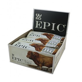 Epic All Natural Meat Bar, 100% Natural, Beef, Apple & Bacon, 1.5 ounce, 12 Count