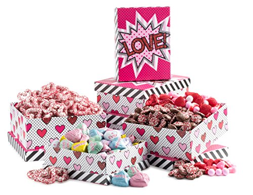 Gourmet Love 3 Tier Tower Filled with Goodies