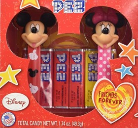 PEZ Valentine Gift Set, Disney Couples, 1.74 Ounce