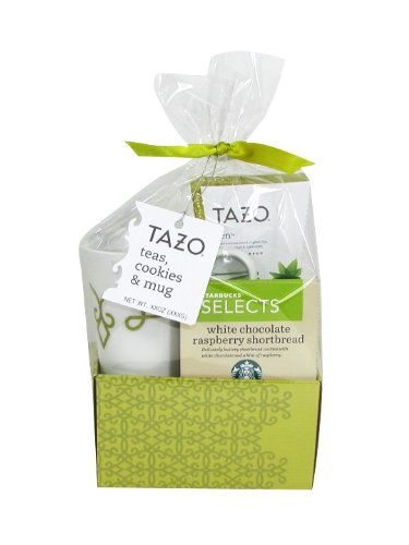 Tazo Green Tea Basket Gift Set