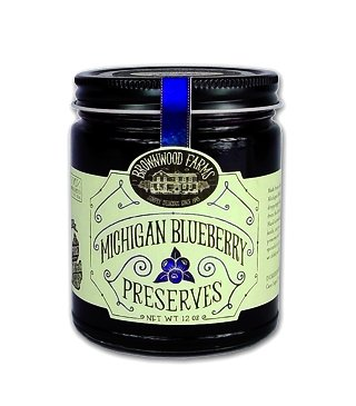 Michigan Blueberry Preserves – 3 PACK – Shipping Included