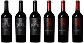 Apothic Dark Side California Red Wine Mixed Pack, 6 x 750mL