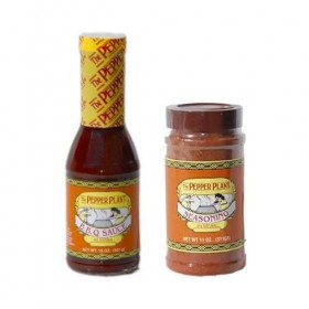 The Pepper Plant BBQ Sauce & Dry Rub Seasoning Combo