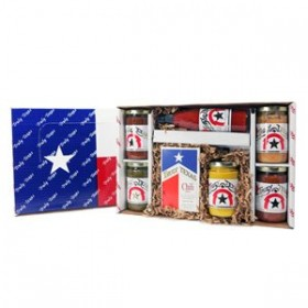 Whole Lotta Texas Salsa, Queso, Chili, Hot Sauce Gift Box – Truly Texas