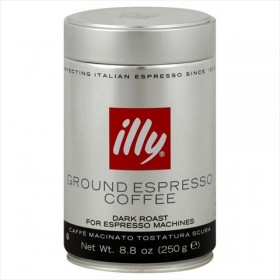 Dark Ground Espresso Coffee 8.8 OZ, – Pack of 6