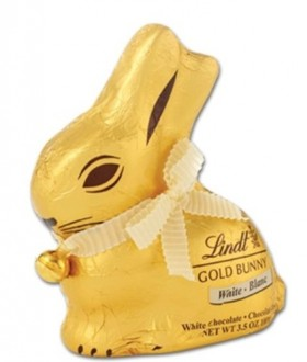Lindt GOLD BUNNY 100g – White Chocolate