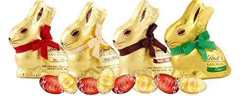 Lindt Chocolate Lovers Easter Ready to Gift Gold Bunny & Egg Bundle