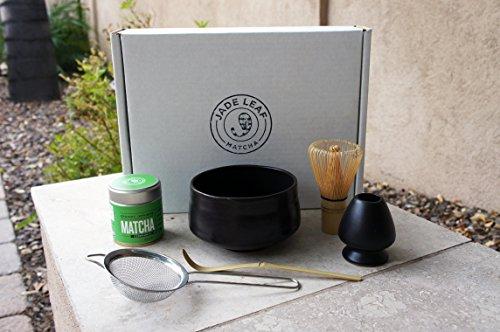 Jade Leaf – Complete Matcha Gift Set – Organic Matcha Green Tea Powder – Classic Ceremonial Grade