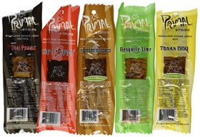 Primal Strips Meatless Vegan Jerky-Variety Gift Pack Sampler; 12 Assorted 1 Ounce Strips
