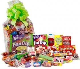 Spring Time Gift Bag of Nostalgic Retro Candy