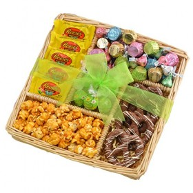 Chocolate Easter Gift Basket Tray