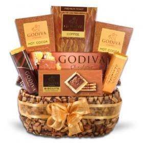 Godiva Gourmet Coffee Delights Gift Basket