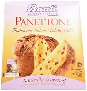 Bauli Panettone Italian Cake 35.2 Ounce Box