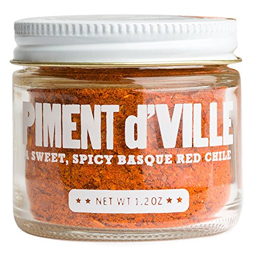 Piment d'Ville – Red Chili Pepper Powder from California – 1.2 oz jar