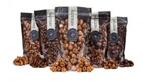 The Nuttery Freshly Roasted and Glazed Cashews – One (1) Lb Bag of Kosher Sweet Cashews Nuts