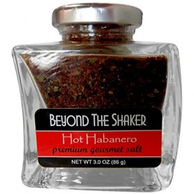 Beyond the Shaker Gourmet Organic Salt & Herb Blends, Hot Habanero – 3 oz.