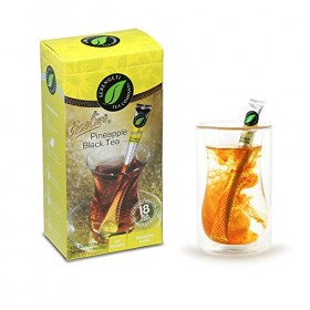 Serengeti Tea 2 Piece Pineapple Black Tea Box and Double Wall Cup Set