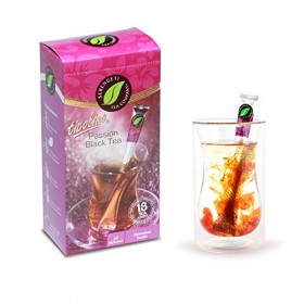 Serengeti Tea 2 Piece Passion Black Tea Box and Double Wall Cup Set