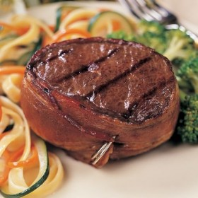 Omaha Steaks 12 (6 oz.) Bacon-Wrapped Top Sirloins