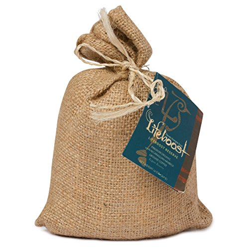 Premium Organic Ground Coffee By LifeBoost – Fair Trade Single Origin Nicaragua Gourmet Ground Coffee – 12 oz Ground Medium Roast