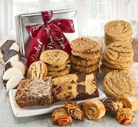 Dulcet's Assorted Cookies and Brownies, Best Sellers Treats in a Tin