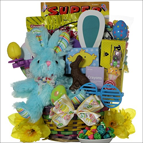 Hoppin' Easter Fun – Boy: Child's Easter Basket Ages 3 to 5 Years Old