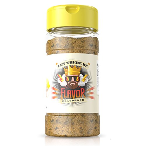 #1 Best-Selling 5oz. Flavor God Seasonings (Lemon Garlic Seasoning, 1 Bottle)