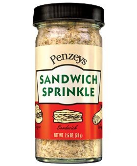 Sandwich Sprinkle by Penzeys Spices 3.8 oz 3/4 cup bag