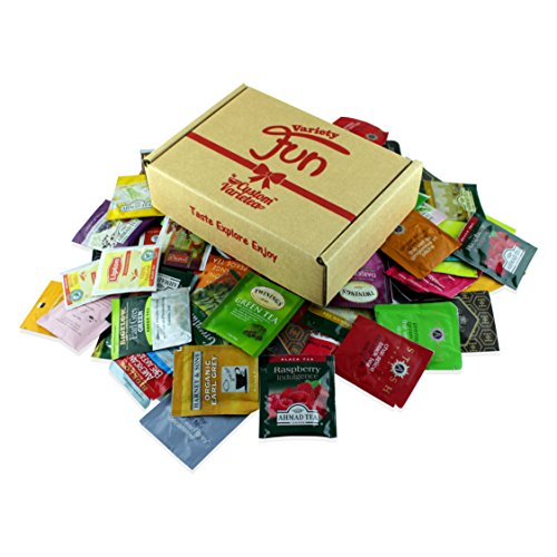 Custom VarieTea Tea Bags Sampler Assortment Includes Mints (40 Count)
