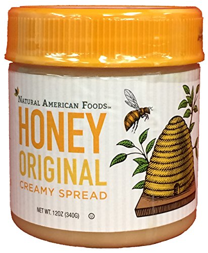 Natural American Foods Honey Creamy Spread, Original, 12 Ounce