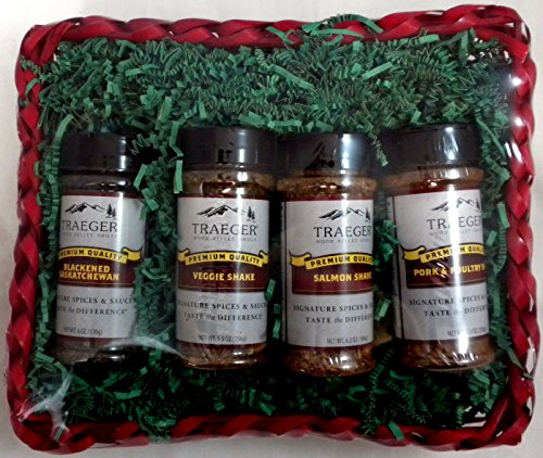 Traeger Signature Spices Gift Basket