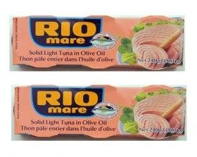 Rio Mare Tuna Fish Imported From Italy. Italy's Number 1 Tuna – The Best Imported Italian Tuna – 6 – 3 Oz – Cans Home Grocery Product