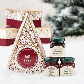 Stonewall Kitchen Holiday Jam Tree Gift