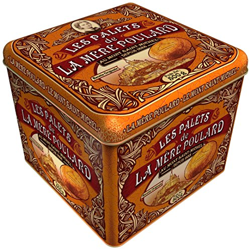 La Mere Poulard – Palets Butter Cookies From France, Gift tin 17.5 oz
